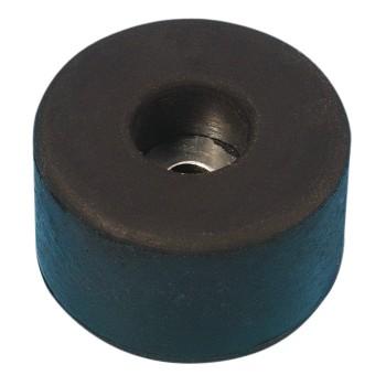 (Grundpreis 0,65€/Stk.) Vpe. 4 Stück Gummifuß 38x15mm