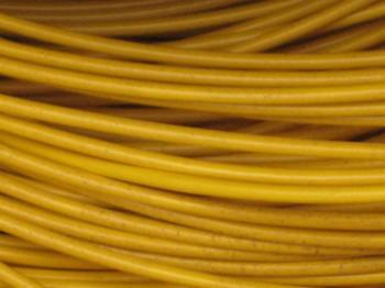 (Grundpreis 0,189€/m) FLRY KFZ Kabel Litze Autoleitung 0,75 mm² gelb 100m Ring
