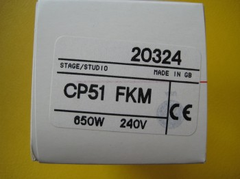 GE CP51 FKM CP-51 Lampe Brenner