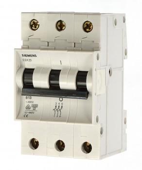 Siemens 5SX2310-6 Sicherungsautomat B10 T55 400V, 6KA, 3POLIG