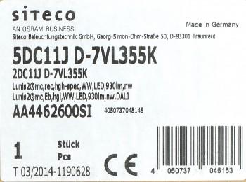 Siteco Lunis2 micro Led Downlight für Deckeneinbau