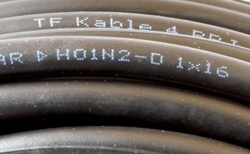 (Grundpreis 1,99€/m) H01N2-D Schweißleitung 16mm² 50m Ring Schweißkabel