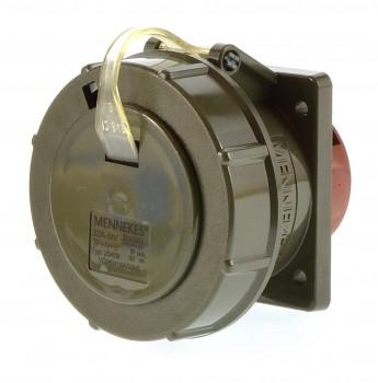 Mennekes 20459 Anbausteckdose gerade TM 32A 5P 6h ip67