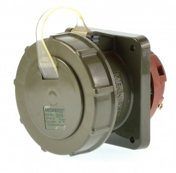 Mennekes 20460 Anbausteckdose gerade TM 63A 5P 6h ip67