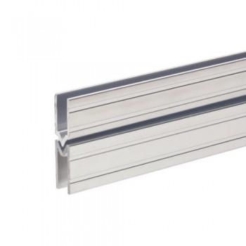 Schließprofil male/female für 7 mm Materialstärke 6142