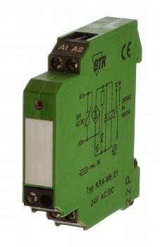 BTR KRA-M6/1-2 Koppelbaustein 24V AC/DC 11061713