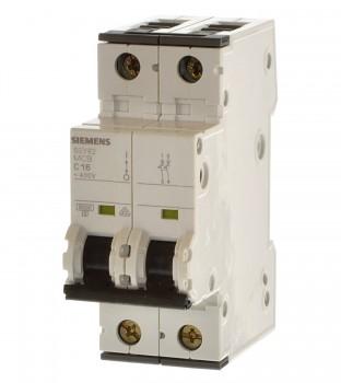 Siemens 5SY6205-7 Sicherungsautomat C0,5 2 polig