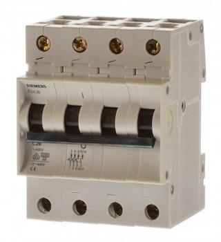Siemens 5SX2625-7 C25 Sicherungsautomat 4 polig 3+N