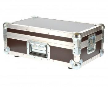 "Flightcase Mixercase 19"" 6 He 9,5 cm Einbautiefe"