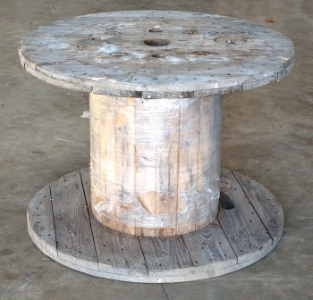 Kabeltrommel Holztrommel Leertrommel leer ca 90x65cm Nr.2