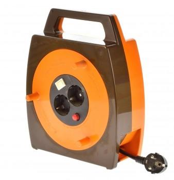 Schill KBL220 Kabelaufwickler mit Lampe 20m 3x1mm² neuwertig