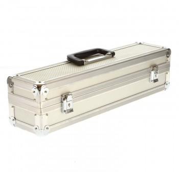 GSA Alukoffer 49,5 x 11,5 x 12,2 cm Flightcase Koffer