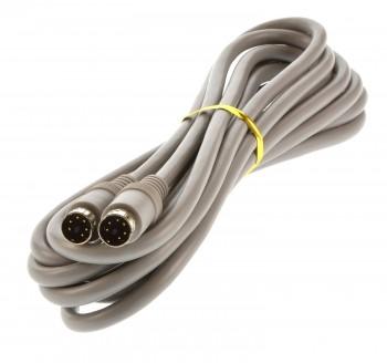 Waeco Verbindungskabel 3m hellgrau 2x mini Din Stecker