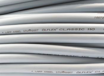 YSLY-JZ Steuerleitung 5x2,5mm² Ölflex Classic 110