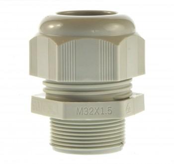 Kabelverschraubung M32 Helu 18-25mm hellgrau Ral 7035