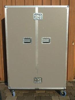 flightcase schrank mit 16 f chern schrankcase messeschrank 10477. Black Bedroom Furniture Sets. Home Design Ideas