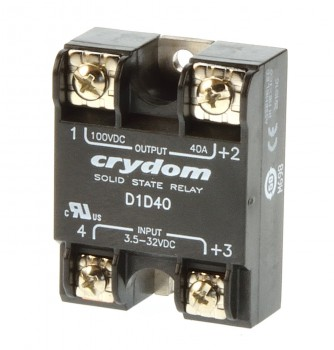 Crydom D1D40 Solid State Relais 40A In 3,5-32VDC
