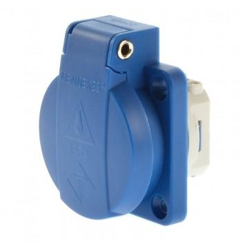Mennekes 11031 Anbausteckdose Schuko blau