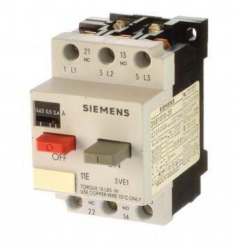 Siemens 3VE1010-2K Motorschutzschalter 4-6,3A