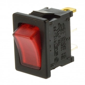SCI R13-66 Wippschalter 10A 250V mit Beleuchtung