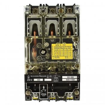 Moeller NZM6-100 / ZM6-100 Leistungsschalter 100A 3p