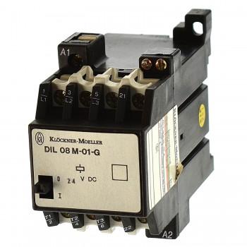 Moeller DIL08M-01-G Schütz 2,5KW Spule 24VDC