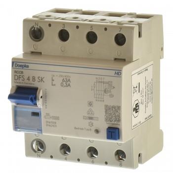 Doepke DFS 4 063-4/0,30-B SK HD FI Schalter allstrom sensitiv 09146998HD