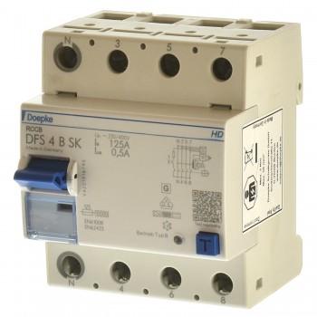 Doepke DFS 4 125-4/0,50-B SK HD Fi Schalter allstrom sensitiv 09177998HD