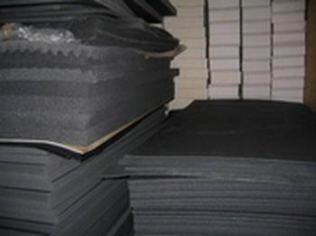 (Grundpreis 11,40€/m²) 2 m² PE Schaumstoff 15mm grau Isolator