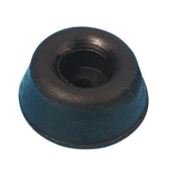 (Grundpreis 0,297€/Stk.) Vpe. 4 Stück Gummifuß 20x9mm