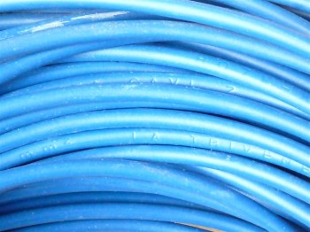 (Grundpreis 0,2399€/m) H07V-K Litze 2,5mm² blau Aderleitung Einzelader 100m Ring
