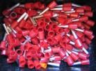 (Grundpreis 0,0138€/Stk.) 500 Stück Aderendhülsen isoliert 1mm² rot 8mm