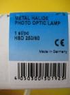 Osram HSD 250/60 4ArXS GY-9,5 Halogen-Metalldampflampe