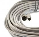 Waeco Verbindungskabel 20m grau Mini Din Stecker auf großen Din Stecker
