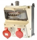 Mennekes 920xxx Amaxx Stromverteiler ip44 unverkabelt