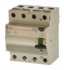 AEG GE FI25/0,3-4 FI Schalter 4 polig 300mA 604207
