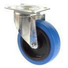 Tente 100mm Lenkrolle blau 150 Kg 3470UFR100P62 blue