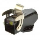 Harting HAN 3M-ASGW-QB-11 Sockelgehäuse 09370031250 schwarz