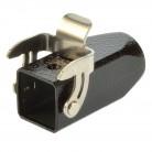 Harting Han 3M-KG-QB-M20 Kupplungsgehäuse 19370031750 schwarz