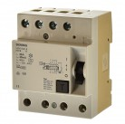 Siemens 5SM1344-6 Fi Schalter 40A 30mA  Fehlerstromschutzschalter