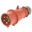 Mennekes Typ 4 CEE Stecker 32A 5p 6h mit Schraubklemmen
