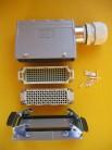 Harting / Weidmüller Steckverbindung 108 polig AVU-TSVU32 Lötkontakte gold