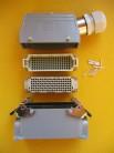 Harting / Weidmüller Steckverbindung 108 polig SVU-TSVU29 Lötkontakte silbern