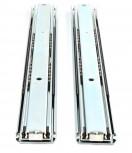 (Grundpreis 13,45€/Stk.) 1 Paar Vollauszug 500mm 130KG Schubladenschienen Teleskopauszug Schwerlastauszug Art.16221