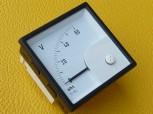 Voltmeter SQ 72 DS Skala  0-60V mit Klemmenabdeckung