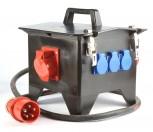 Stromverteiler PCE 6744937 32-3x32-3x220 Fi Schalter