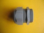 Kabelverschraubung PG42 lichtgrau Ral 7035 Klemmbereich 26-36 mm