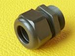 (Grundpreis 0,69€/Stk.) Vpe. 10 Stück Kabelverschraubung PG16 Hummel 10-14 mm schwarz