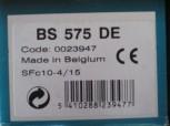 Sylvania BS 575 DE SFc10-4-15 BS575