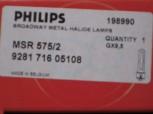 Philips MSR 575/2 95V/575W GX-9,5 1000h